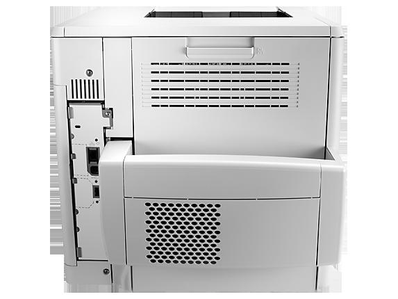 HP LaserJet Enterprise M605dh - Rear