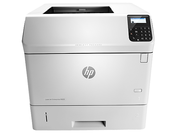 HP LaserJet Enterprise M605n - Center