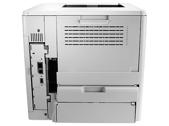 HP LaserJet Enterprise M605n - Rear