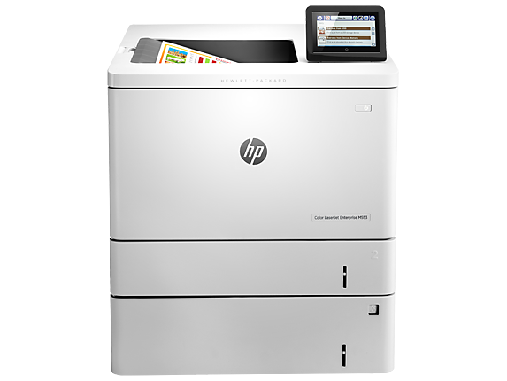 HP Color LaserJet Enterprise M553x - Center