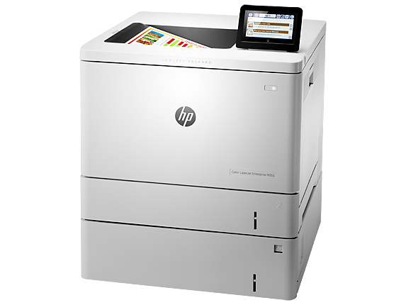 HP Color LaserJet Enterprise M553x - Left