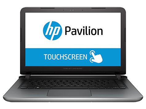 PC Notebook HP Pavilion serie 14-ab100 (táctil)