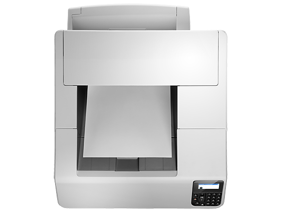 HP LaserJet Enterprise M604dn - Top view closed