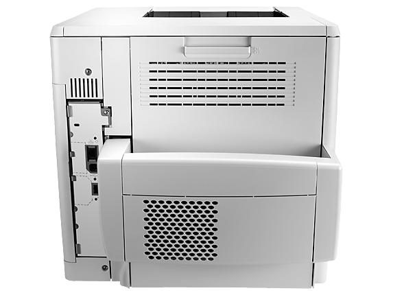 HP LaserJet Enterprise M604dn - Rear