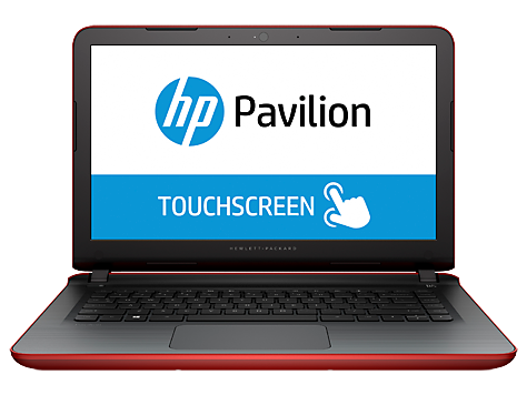 PC Notebook HP Pavilion serie 14-ab000 (táctil)