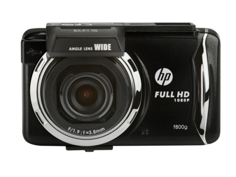 HP f800g Car Camcorder
