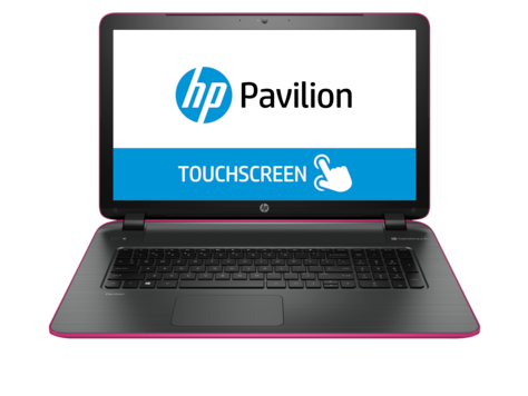 HP Pavilion 17-f200 bærbar PC (Touch)