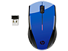 HP X3000 Cobalt Blue Wireless Mouse - Center