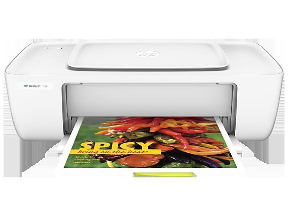 HP DeskJet 1110 Printer - Center