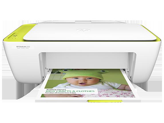 HP DeskJet 2132 All-in-One Printer - Center