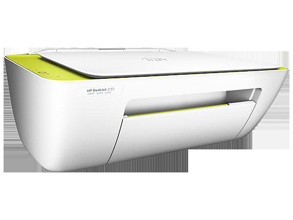 HP DeskJet 2132 All-in-One Printer - Right