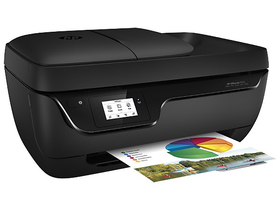 HP OfficeJet 3830 All-in-One Printer - Right