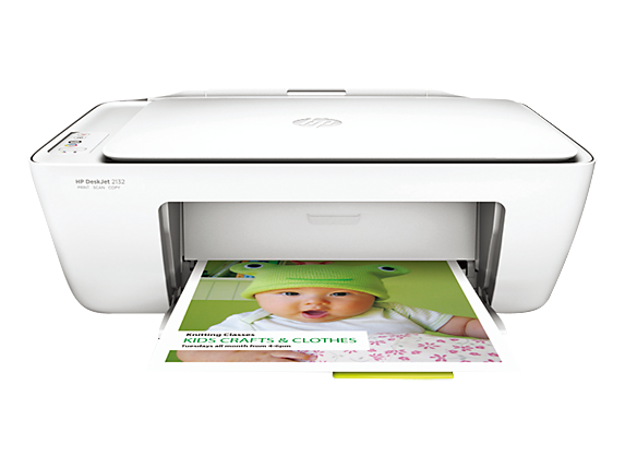 HP DeskJet 2132 All-in-One Printer - Center
