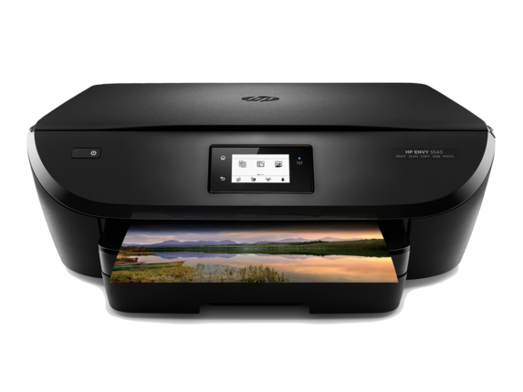 HP ENVY 5543 All-in-One Printer - Center