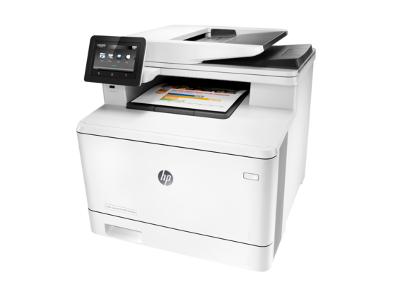 HP Color LaserJet Pro MFP M477fnw - Left