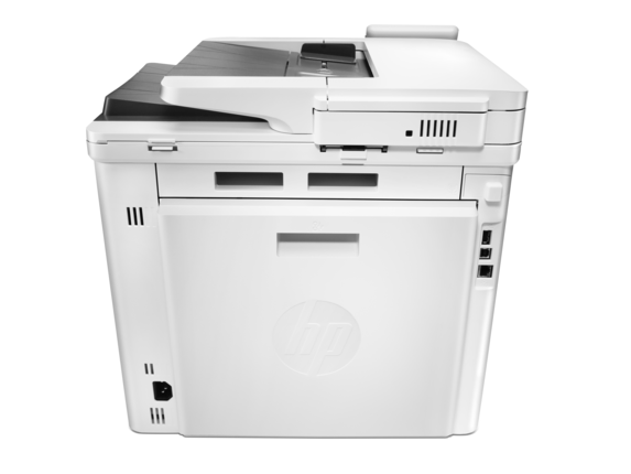 HP Color LaserJet Pro MFP M477fnw - Rear