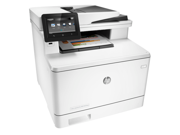 HP Color LaserJet Pro MFP M477fnw - Right