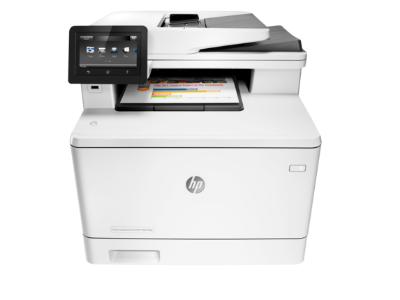 HP Color LaserJet Pro MFP M477fdw - Center