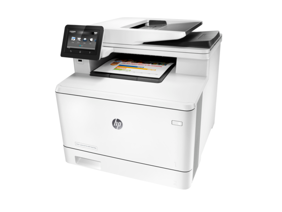 HP Color LaserJet Pro MFP M477fdn - Left