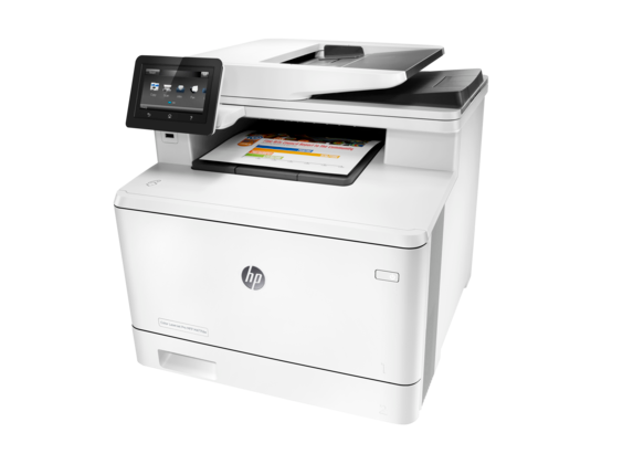 HP Color LaserJet Pro MFP M477fdw - Left