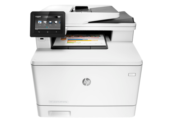 HP Color LaserJet Pro MFP M477fdn - Center
