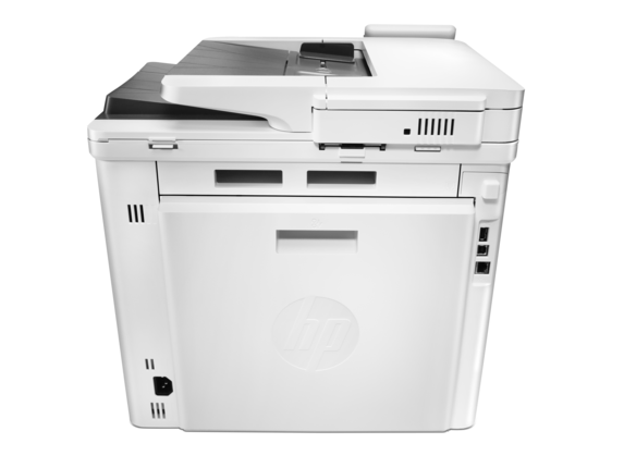 HP Color LaserJet Pro MFP M477fdn - Rear