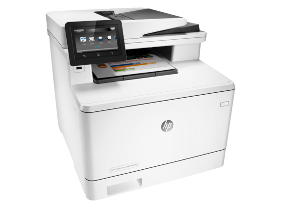HP Color LaserJet Pro MFP M477fdn - Right
