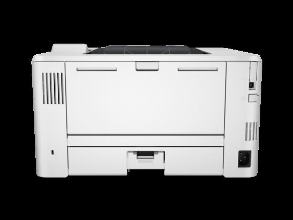 HP LaserJet Pro M402n - Rear