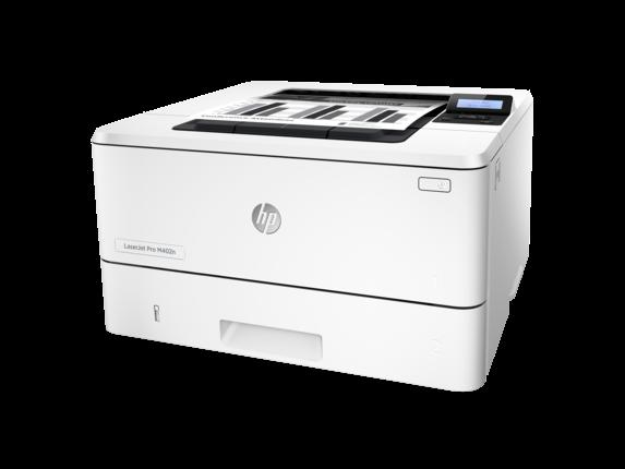 HP LaserJet Pro M402n - Left