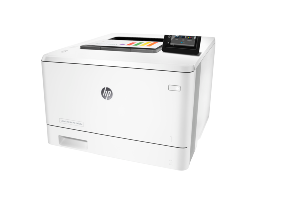 HP Color LaserJet Pro M452dw - Left