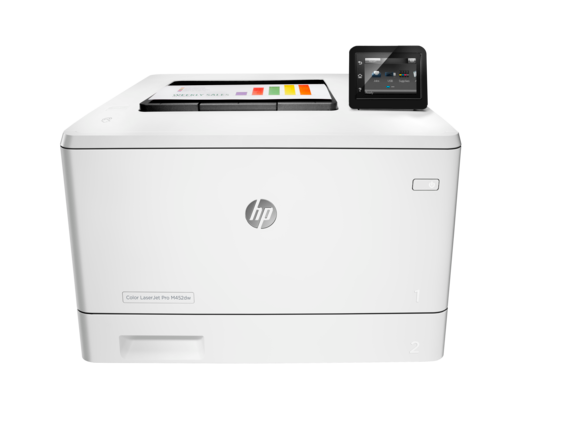HP Color LaserJet Pro M452dw - Center