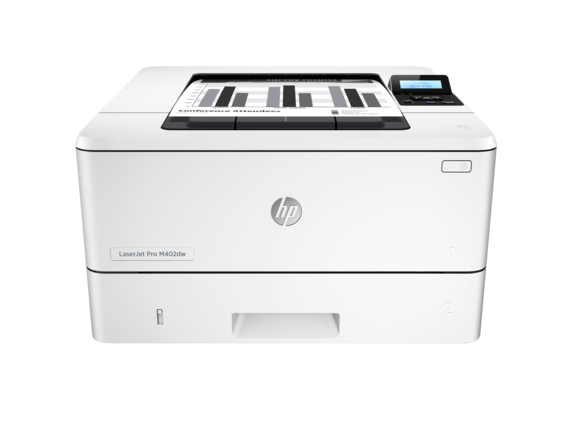 HP LaserJet Pro M402dw - Center