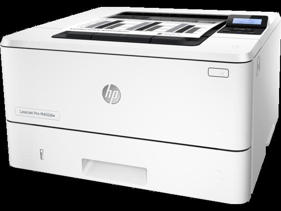 HP LaserJet Pro M402dw - Left