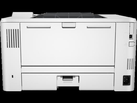 HP LaserJet Pro M402dw - Rear