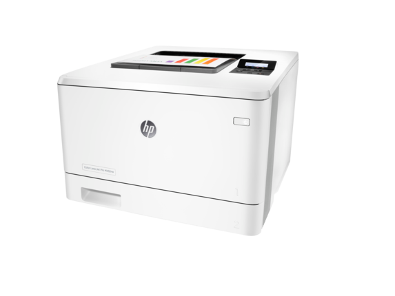 HP Color LaserJet Pro M452nw - Left