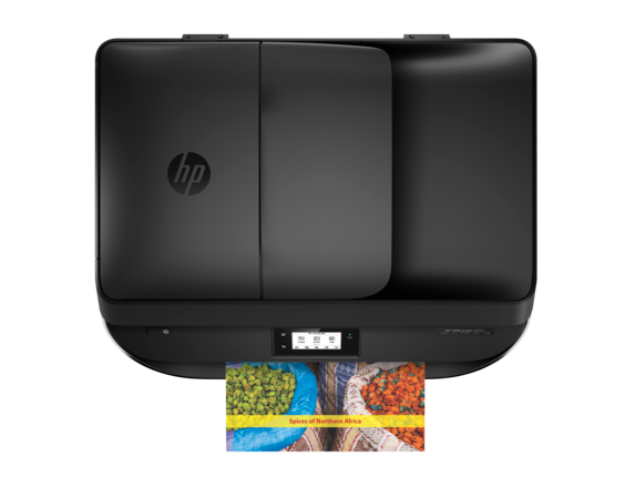HP OfficeJet 4650 All-in-One Printer - Top view closed