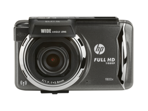 HP f800x Car Camcorder