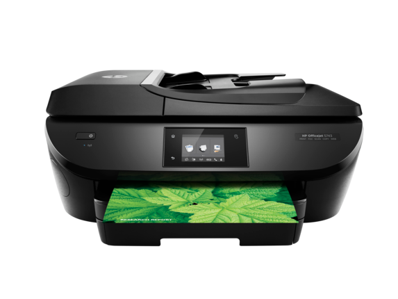 HP OfficeJet 5743 e-All-in-One Printer - Center