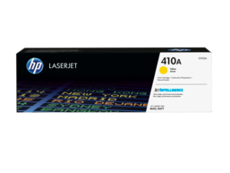 HP 410A Yellow Original LaserJet Toner Cartridge, CF412A