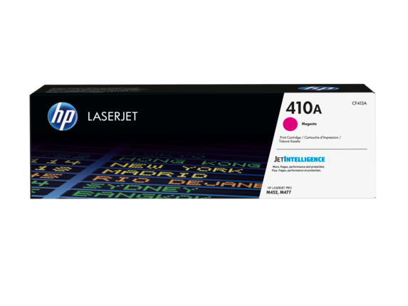 HP 410A Magenta Original LaserJet Toner Cartridge, CF413A