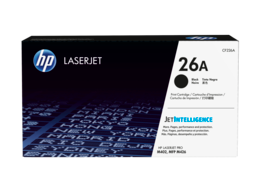HP 26A Black Original LaserJet Toner Cartridge, CF226A