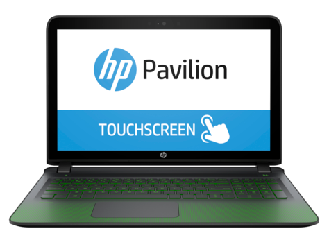 Notebook de jeu HP Pavilion 15-ak100 (tactile)