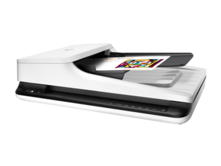 HP ScanJet Pro 2500 f1 Flatbed Scanner - Img_Left_320_240