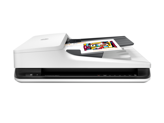HP ScanJet Pro 2500 f1 Flatbed Scanner - Center