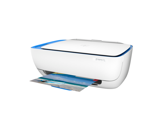HP DeskJet 3633 All-in-One Printer - Left