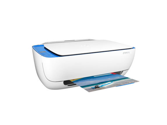 HP DeskJet 3633 All-in-One Printer - Right