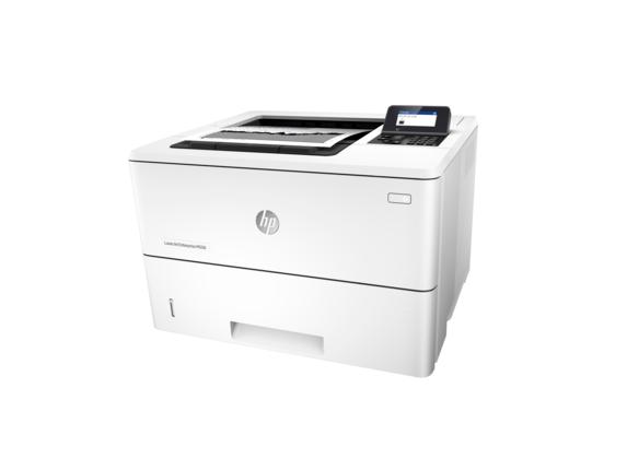 HP LaserJet Enterprise M506dn - Left
