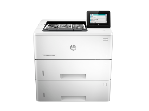 HP LaserJet Enterprise M506x - Center