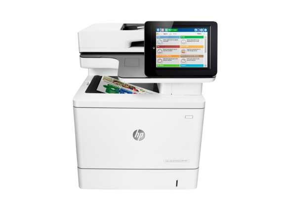 HP Color LaserJet Enterprise MFP M577dn - Center
