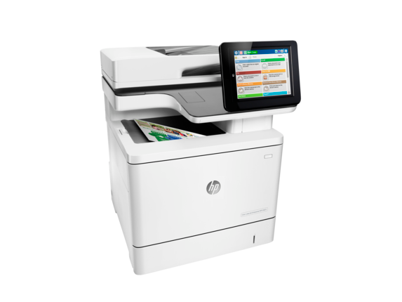 HP Color LaserJet Enterprise MFP M577dn - Right